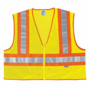 River City Luminator Class II Safety Vests, Lime, Various Sizes