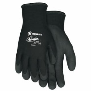 Memphis Glove N9690 Ninja Ice Gloves, Medium, Black, 1.083 in, 1.083 in, Palm and Fingertip Coated, Various Sizes