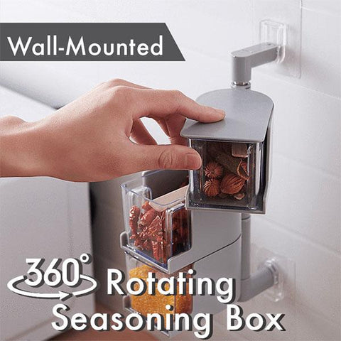 360° Rotating Seasoning Box