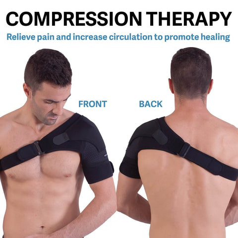 Image of Orthopedic Care Shoulder Brace - (Adjustable to All Body Size)