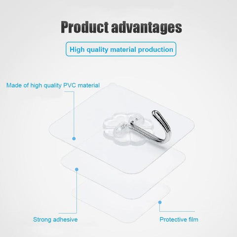 Image of iHook™ Seamless Adhesive Hooks
