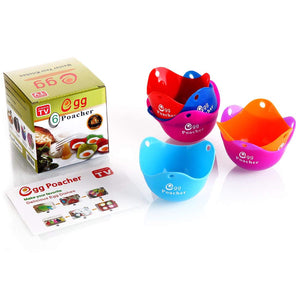 Silicone Egg Poacher (6 Pack)