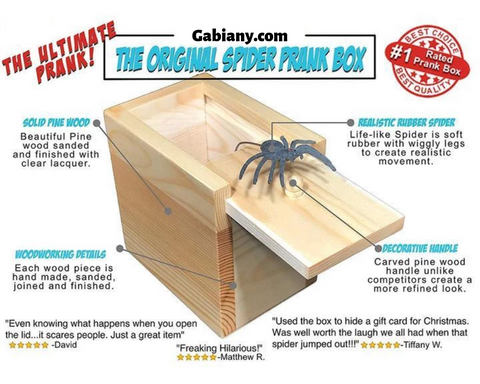 Image of Pranks™ Scare Spider