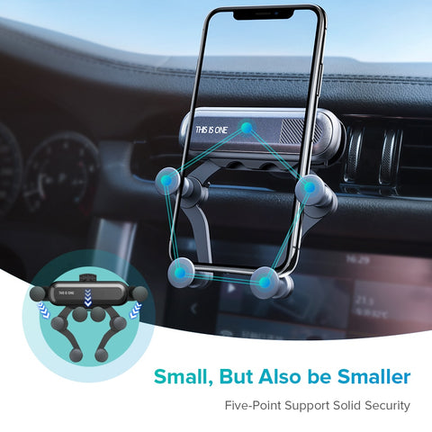 Clip™ Gravity Car Phone Mount