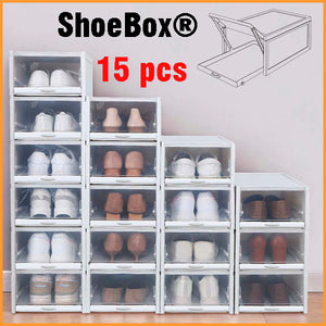 15 ShoeBox® Drawer Type Shoe Box