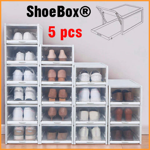 5 ShoeBox® Drawer Type Shoe Box