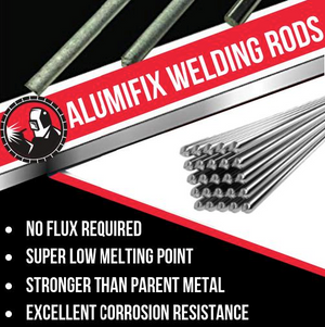 Alumifix Flux-Cored Rods