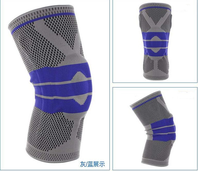 Nylon Silicone Knee Sleeve - Buy 2 Get 1 FREE