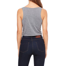 Apply Yourself Crop Tank - Grey