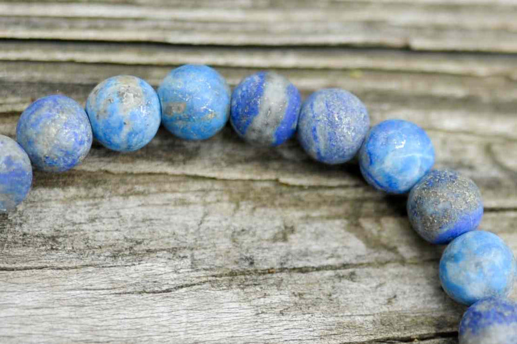 BE ONE. BE KIND. BLUE LAPIS LAZULI BRACELET