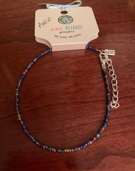 ONEKIND BEADED ANKLET