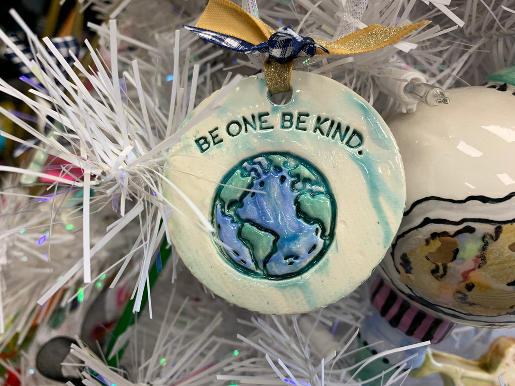 BE ONE. BE KIND. Christmas ornament