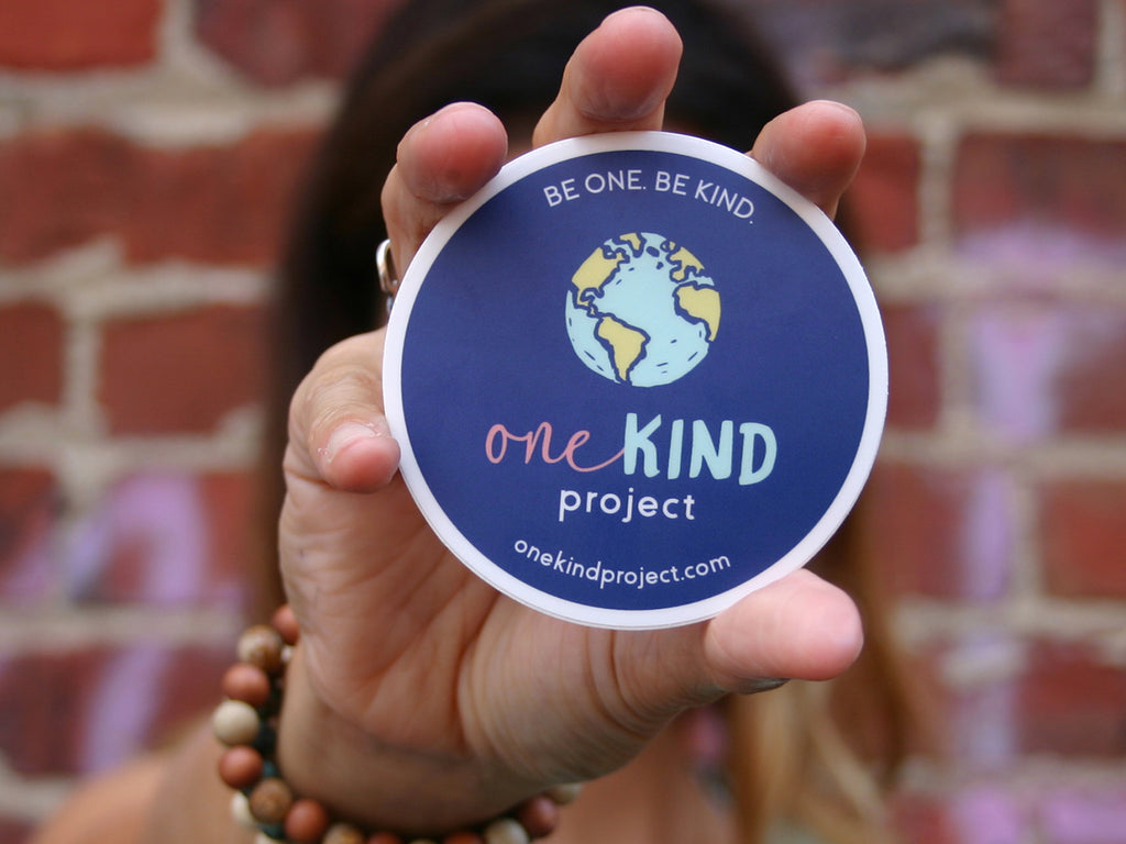 BE ONE. BE KIND. STICKERS