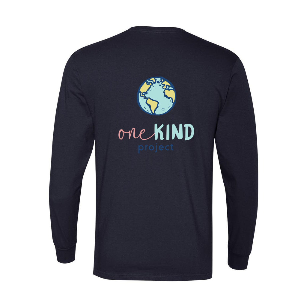BE ONE. BE KIND. LONG SLEEVE TEE (Unisex)