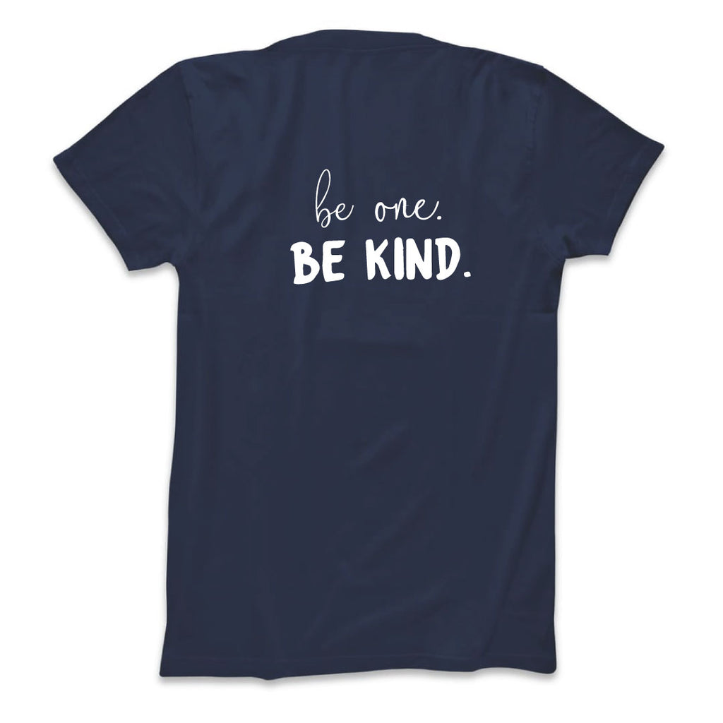 BE ONE. BE KIND. WOMEN'S TEE