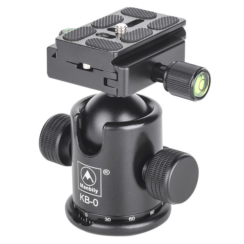 Professional Tripod Heads,Universal Ball Head with Fast Mounting Plate