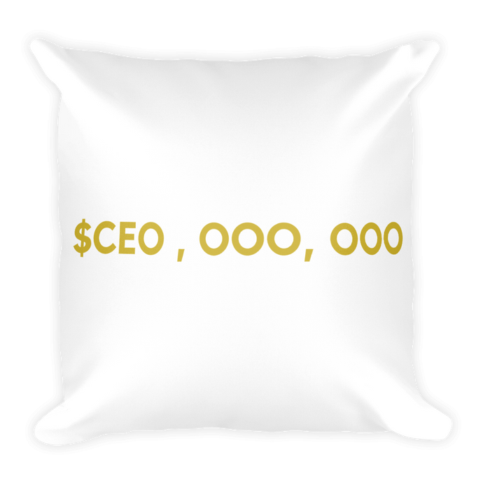 CEO Square Pillow