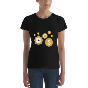 Time is money Women's short sleeve t-shirt