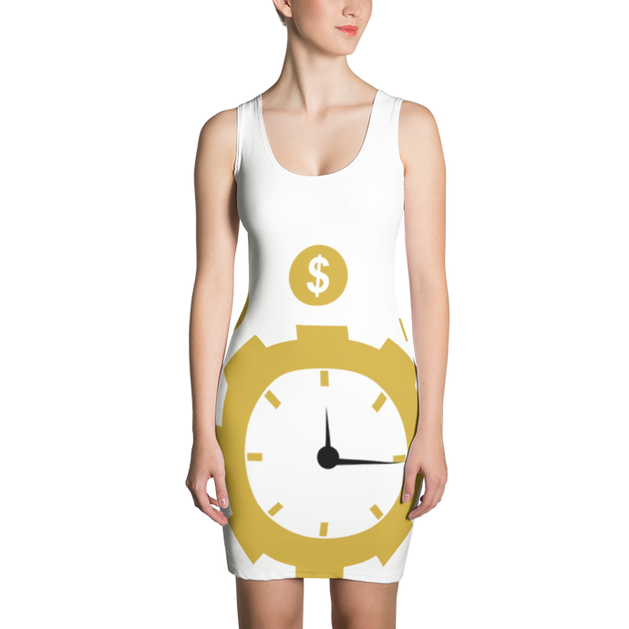 Time is money Sublimation Cut & Sew Dress