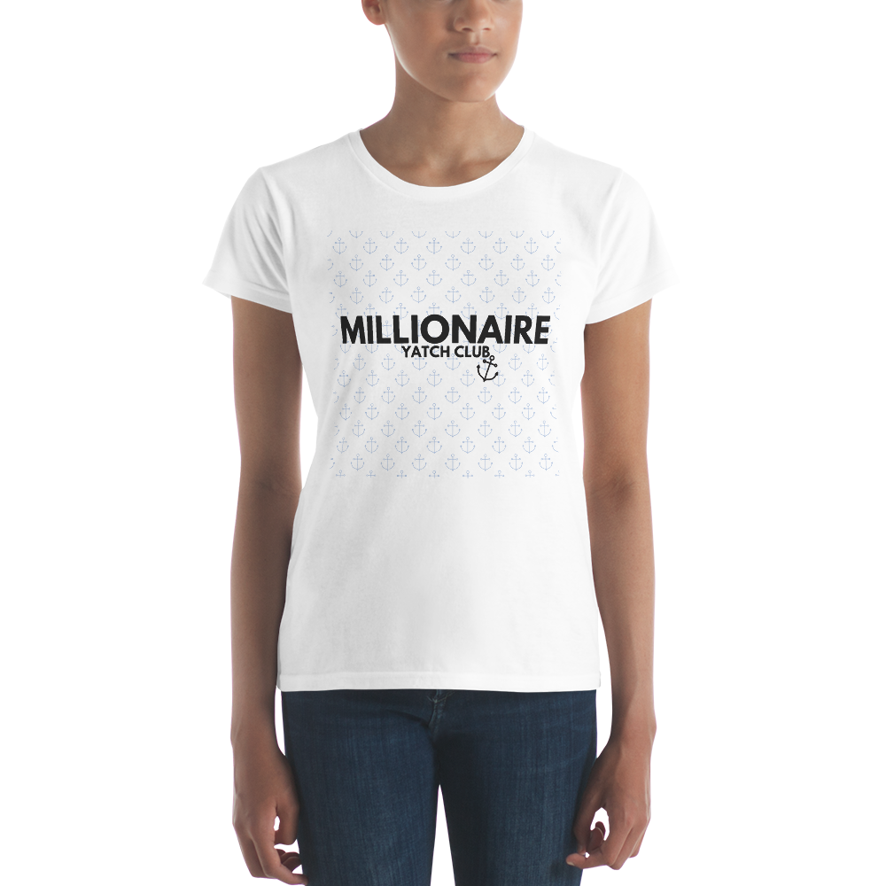 Millionaire Yatch Club - Women's short sleeve t-shirt
