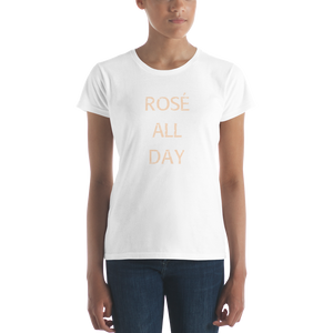 Rosé all day Ladies t-shirt 2