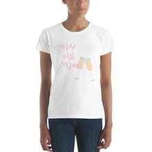 Rosé all day ladies t-shirt