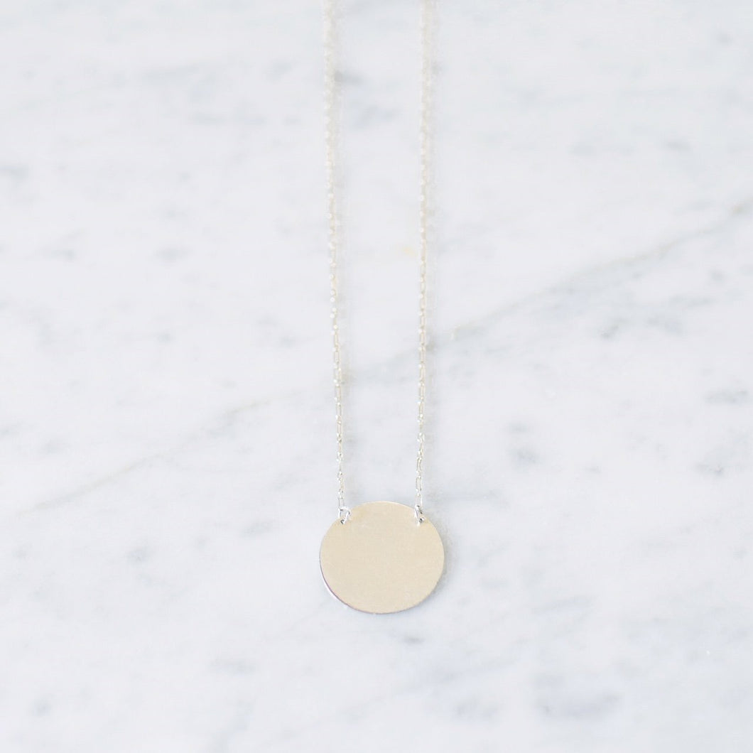 Rossmore Imperfect Cirlce Necklace