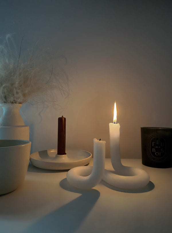 Lex Pott Twist Candles - Sculptural Objects