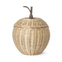 Ferm Living Braided Storage Basket Apple - Large