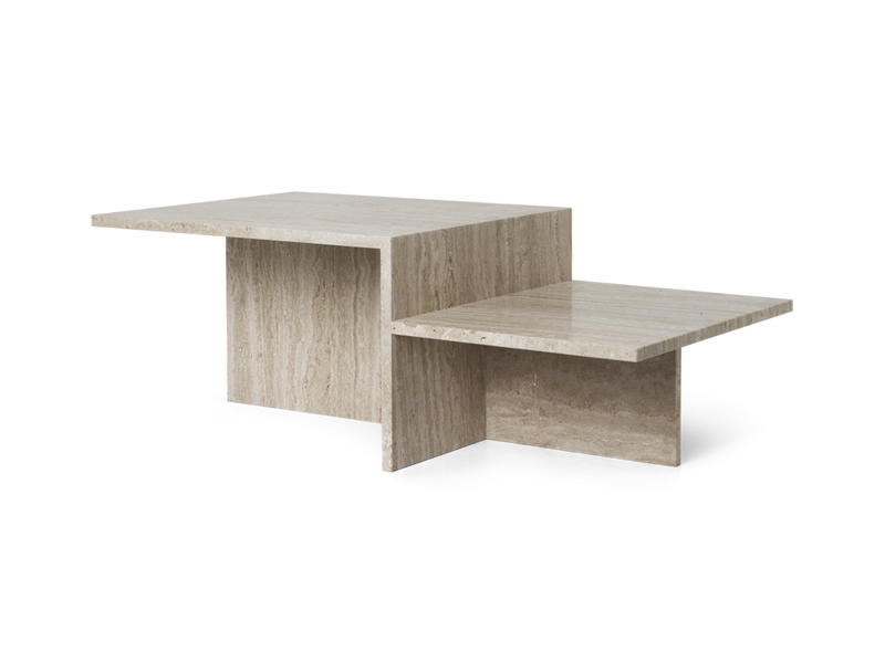 Ferm Living Distinct Coffee Table - Travertine