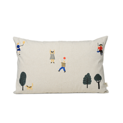 Ferm Living The Park Cushion - Natural