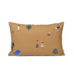 Ferm Living The Park Cushion - Sugar Kelp