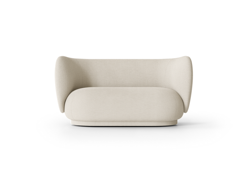 Ferm Living Rico 2-Seater Sofa - Boucle