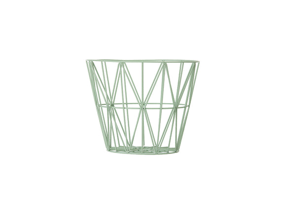 Ferm Living Small Wire Basket - Mint