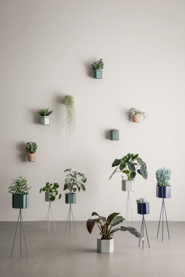 Ferm Living Plant Stand - Light Grey - High