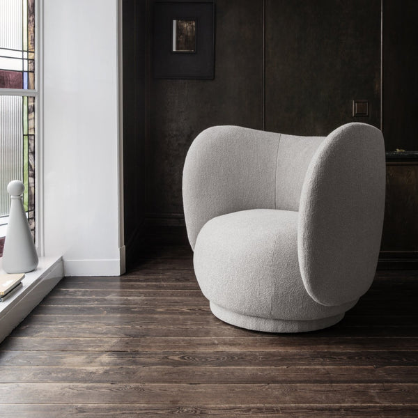 Ferm Living Rico Lounge Chair - Boucle