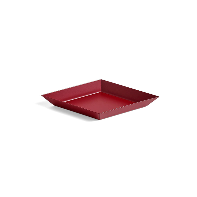 HAY Kaleido Tray - Extra Small - Dark Red