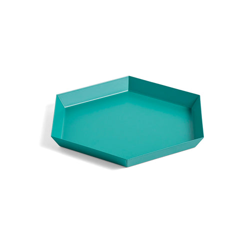 HAY Kaleido Tray - S / Small - Emerald Green
