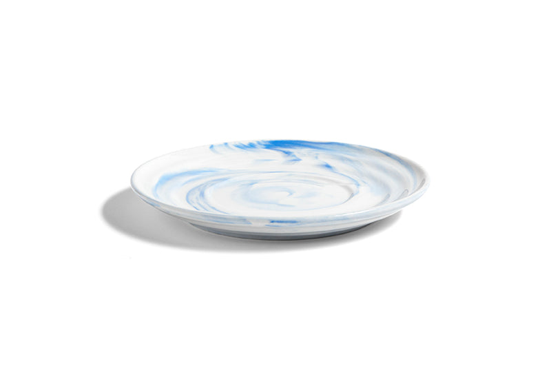HAY Twist Saucer - Medium - Blue