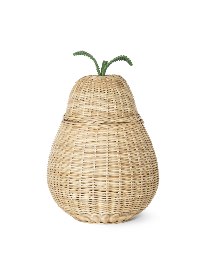 Ferm Living Braided Storage Pear - Large