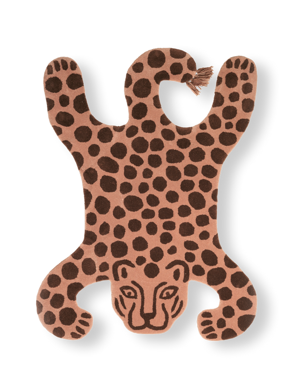 Ferm Living Safari Tufted Rug - Leopard