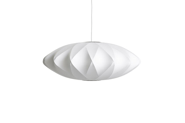 HAY Saucer Crisscross Bubble Pendant Lamp by George Nelson