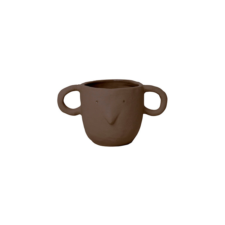Buy Ferm Living - Mus Plant Pot Small - Red Brown