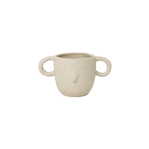 Ferm Living - Mus Plant Pot Small - Sand