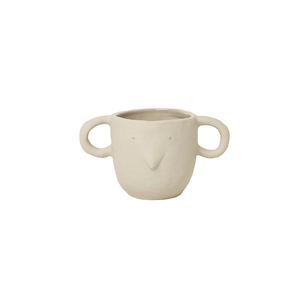 Ferm Living Mus Plant Pot - Small - Sand