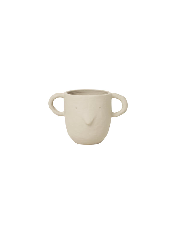 Ferm Living Mus Plant Pot - Large - Sand