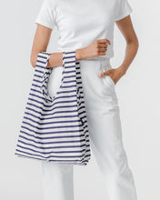 Load image into Gallery viewer, Baggu - Sailor Stripe Reusable Bag