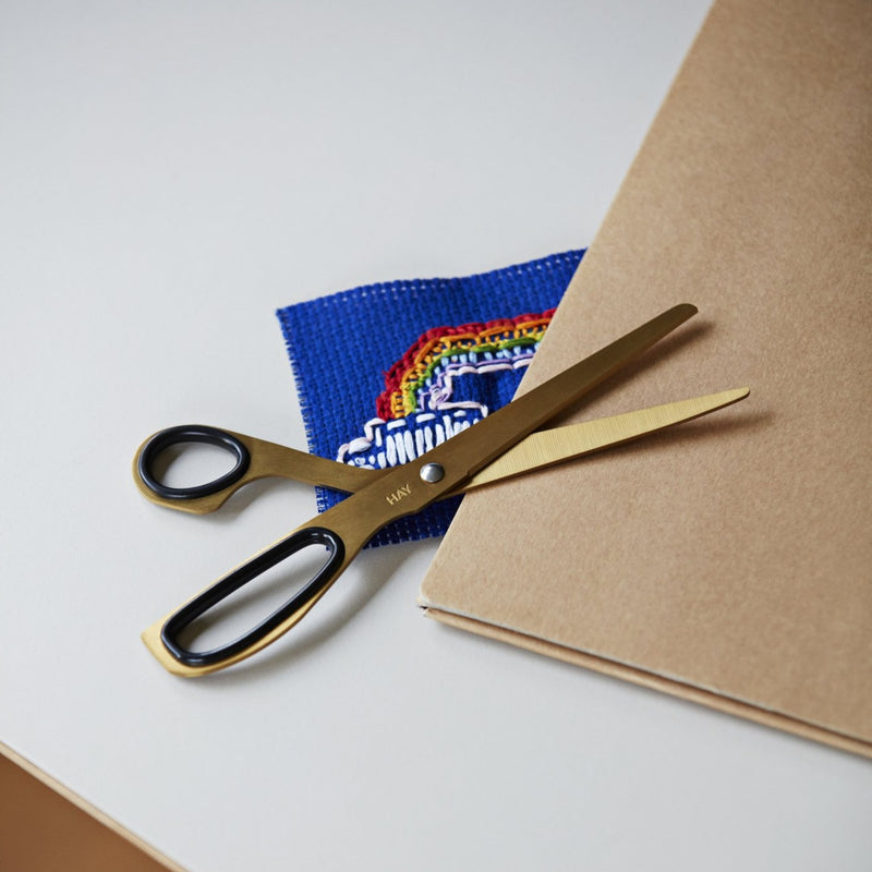 HAY Scissors - Brass