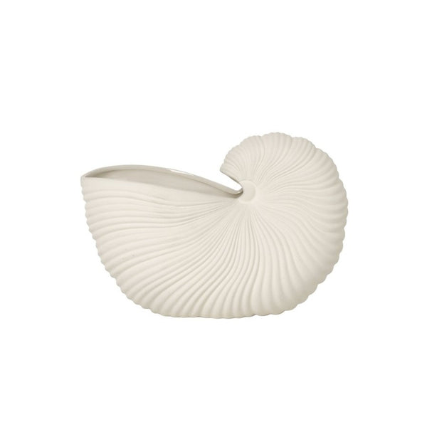 Ferm Living Shell Pot - Off-White