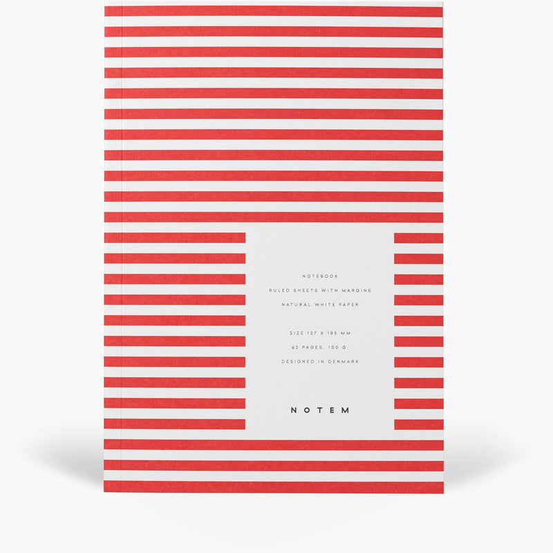 Notem VITA Softcover Notebook - Small - Bright Red
